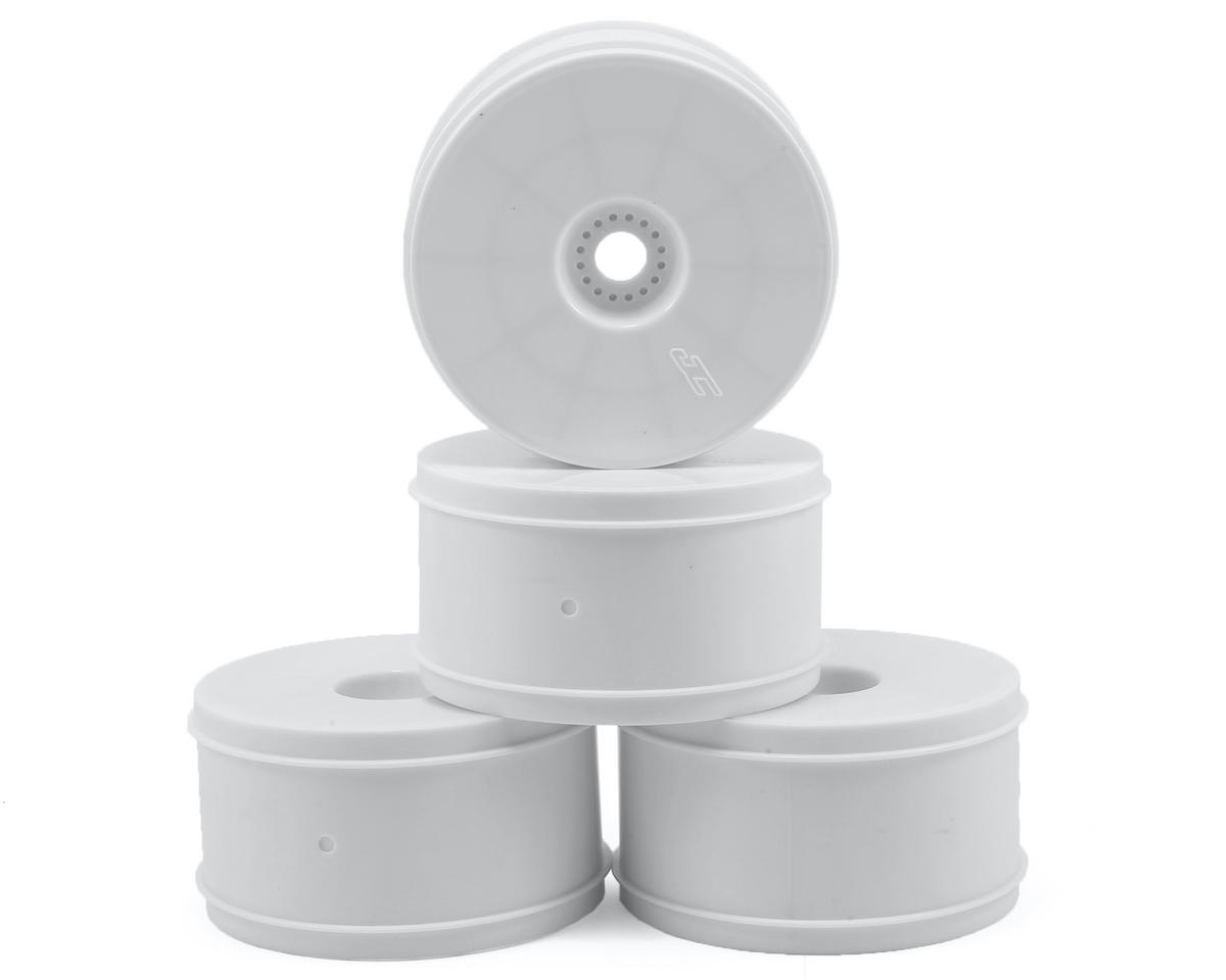 "Bullet 4.0"" Standard Offset 1/8 Truck Wheels (4) (White) by JConcepts"