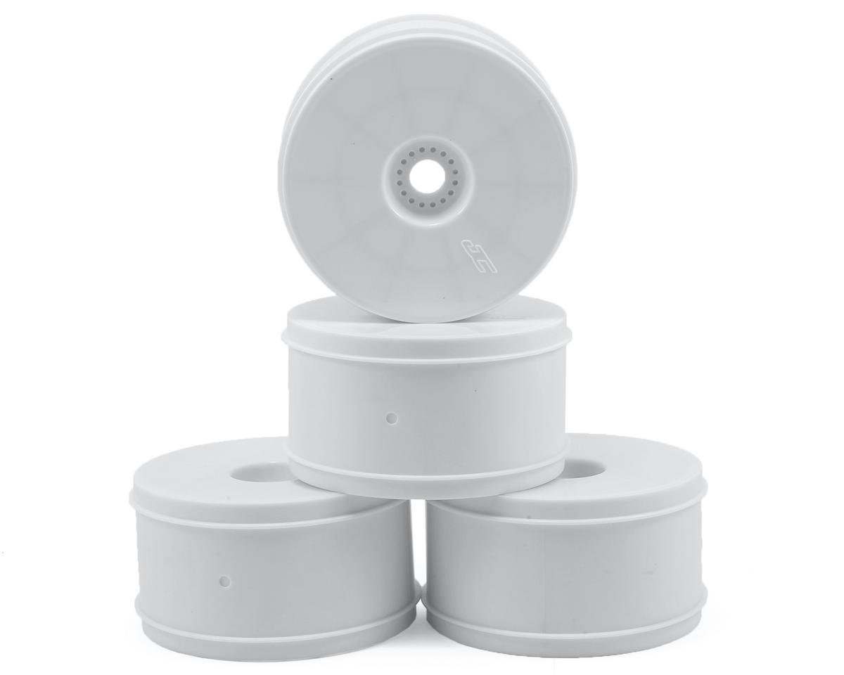 "JConcepts Bullet 4.0"" Standard Offset 1/8 Truck Wheels (4) (White)"