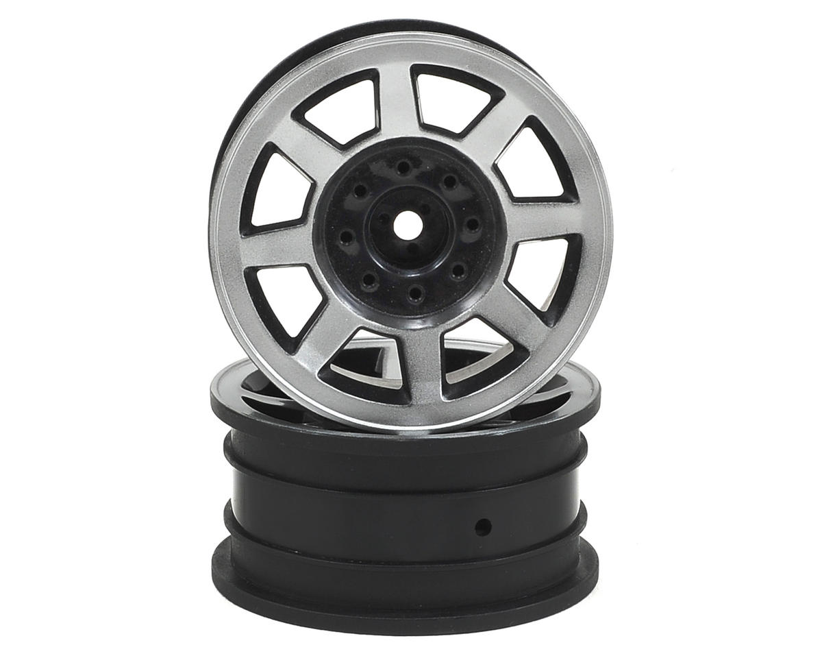 "JConcepts Vengeance 1.9"" Rock Crawler Wheels (2) (Chrome)"