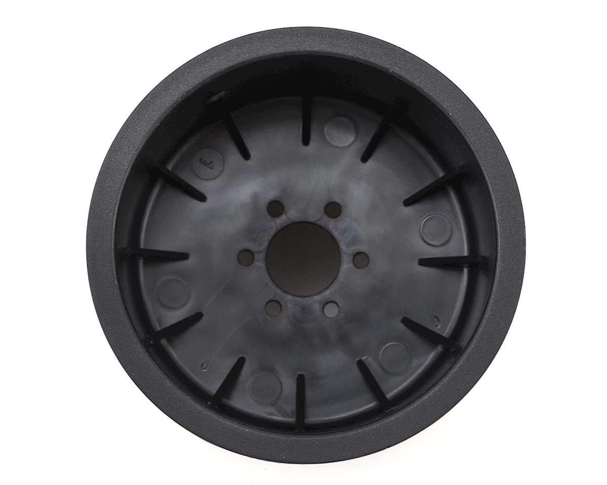 "JConcepts Tribute 2.6x3.6"" Monster Truck Wheel (Black) (2)"