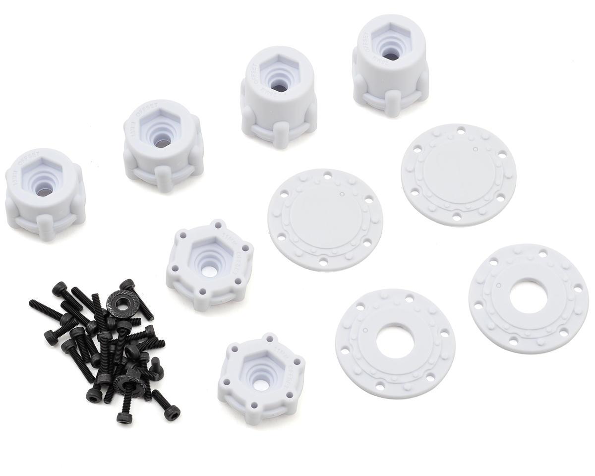 """JConcepts Tribute 2.6 x 3.6"""" Monster Truck Wheel (White) (2)"""