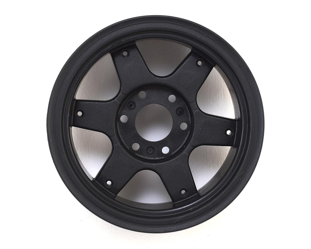 "JConcepts 12mm Hex Dragon 2.6"" Mega Truck Wheel w/Offset Adapters (Black) (2)"