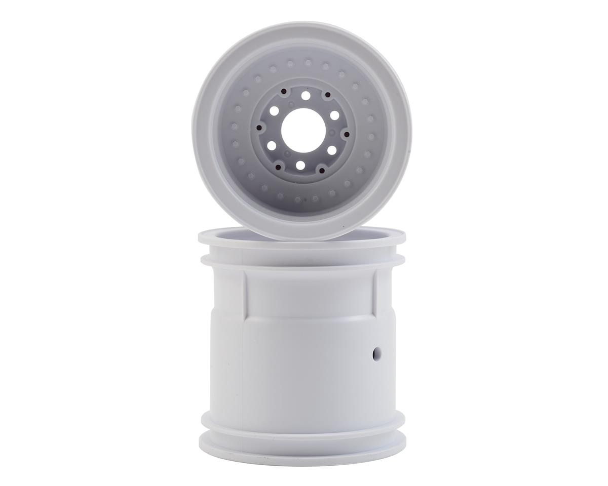 "JConcepts Midwest 2.2"" Monster Truck Wheel (2) (White) 