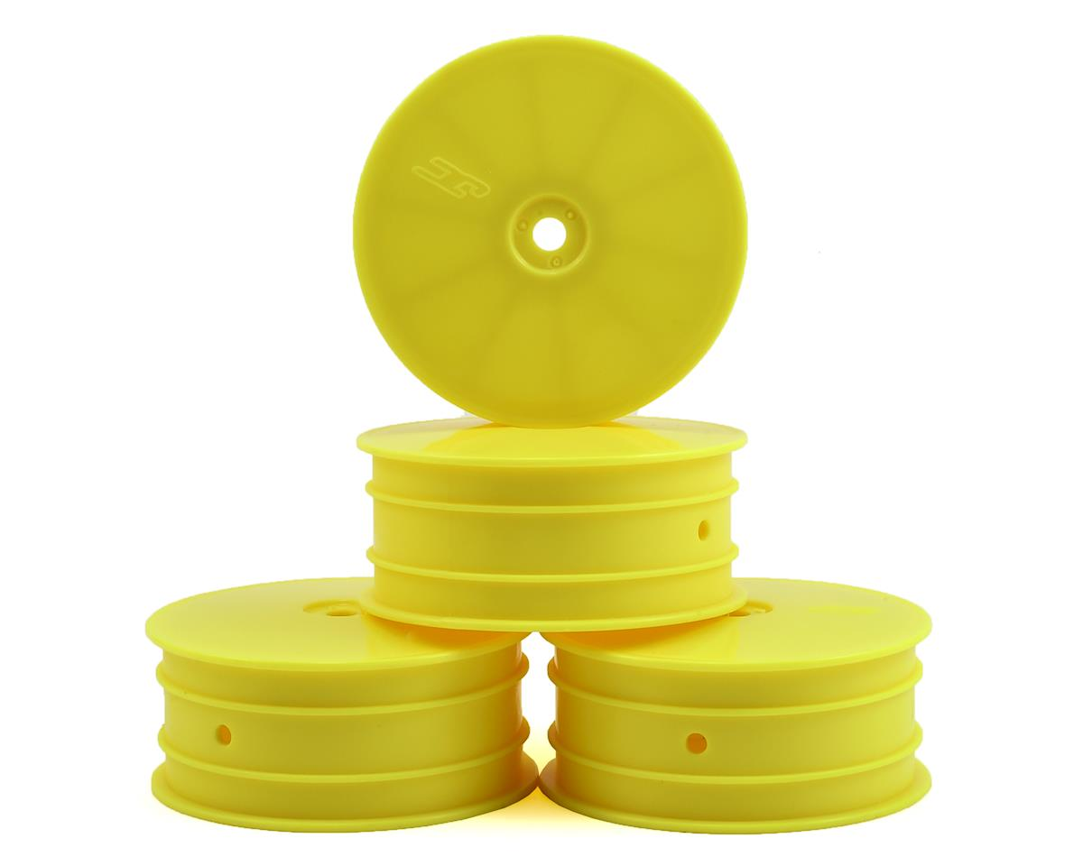 12mm Hex Mono Front Wheel (Yellow) (4) (B64) by JConcepts