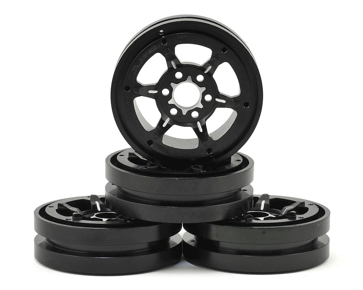 "JConcepts Traxxas TRX-4 Torch 1.9"" Aluminum Beadlock Wheel Set (Black ) (4)"