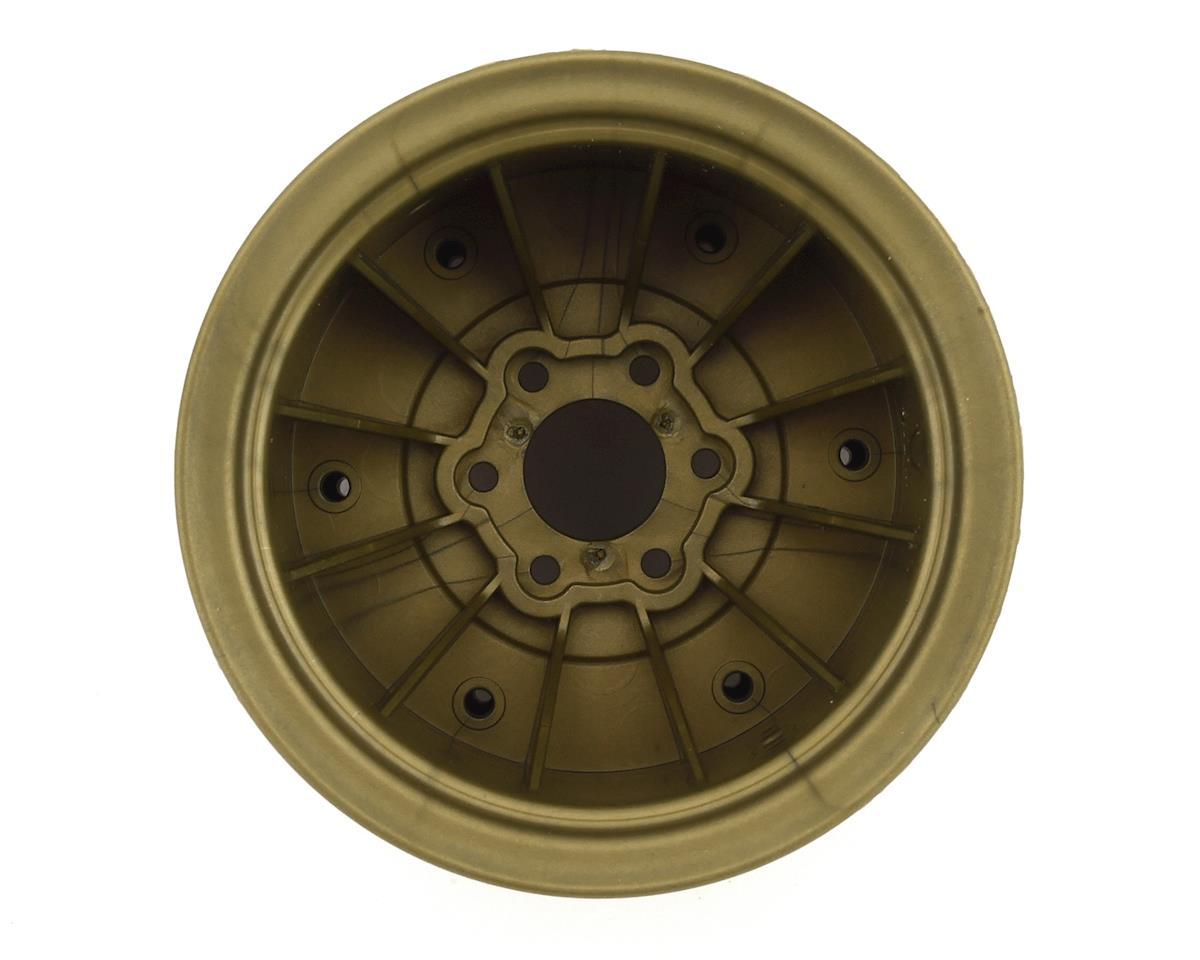 "JConcepts Krimson Dually 2.6"" Dual Truck Wheels (Olive/Gold) (2)"