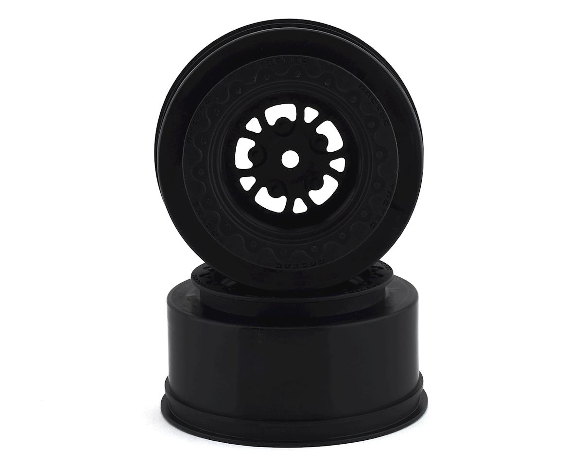 JConcepts Tactic Street Eliminator Rear Drag Racing Wheels (2) (Black)
