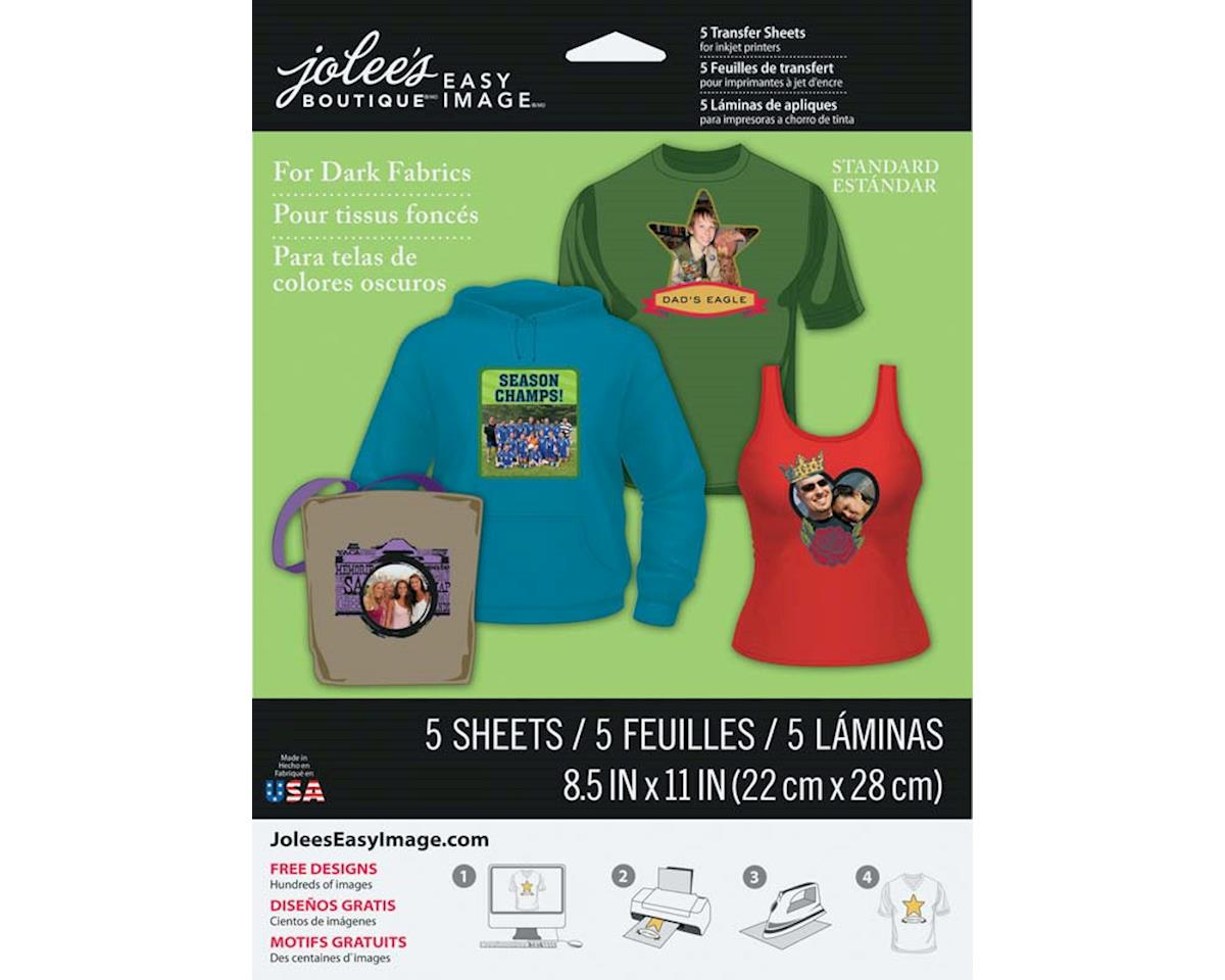 Jolee's Boutique 56-47008 Iron-On Transfer Paper Dark (5)