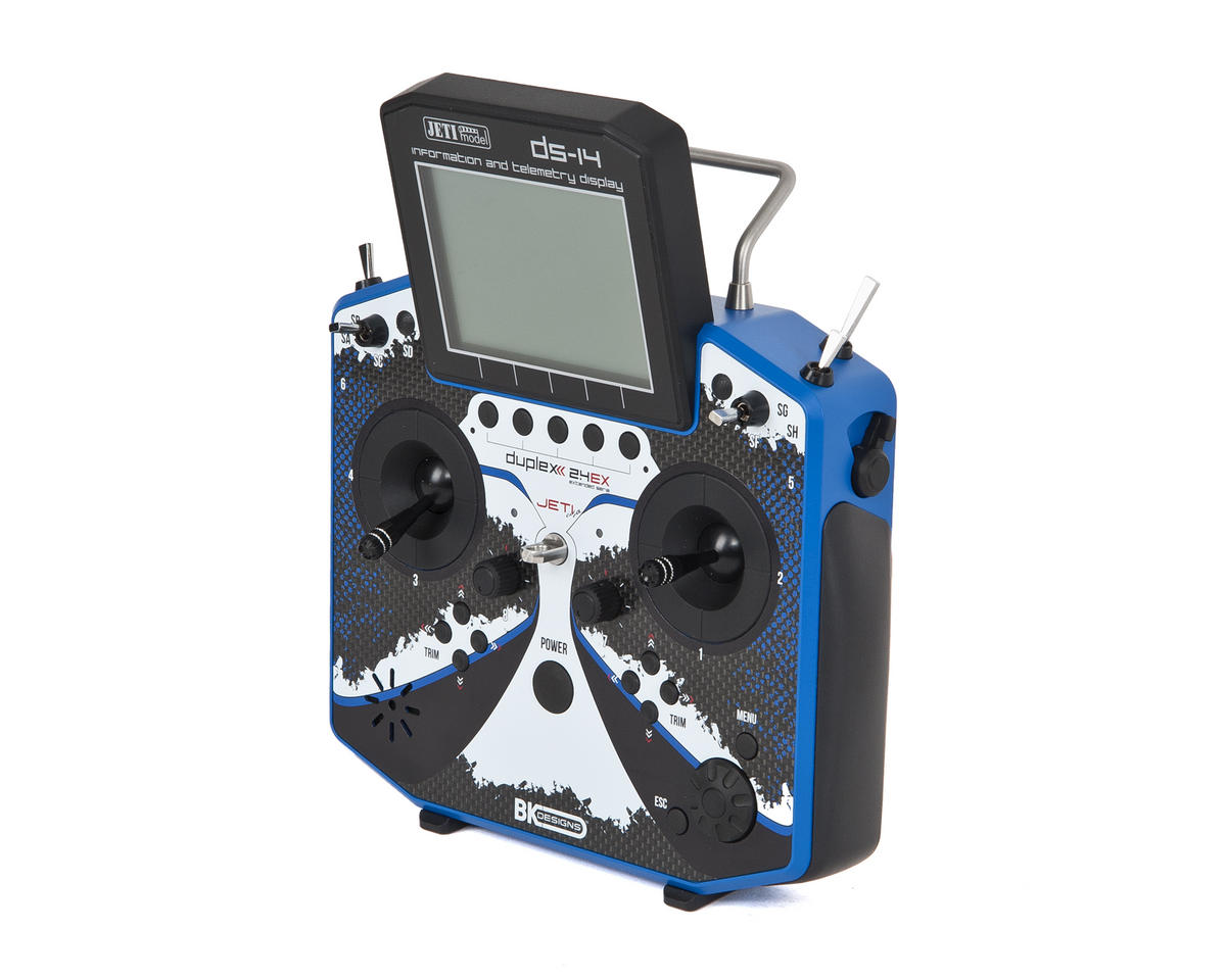 JETI BK Edition DS-14 Transmitter w/Telemetry (Free Jeti R3 Receiver)