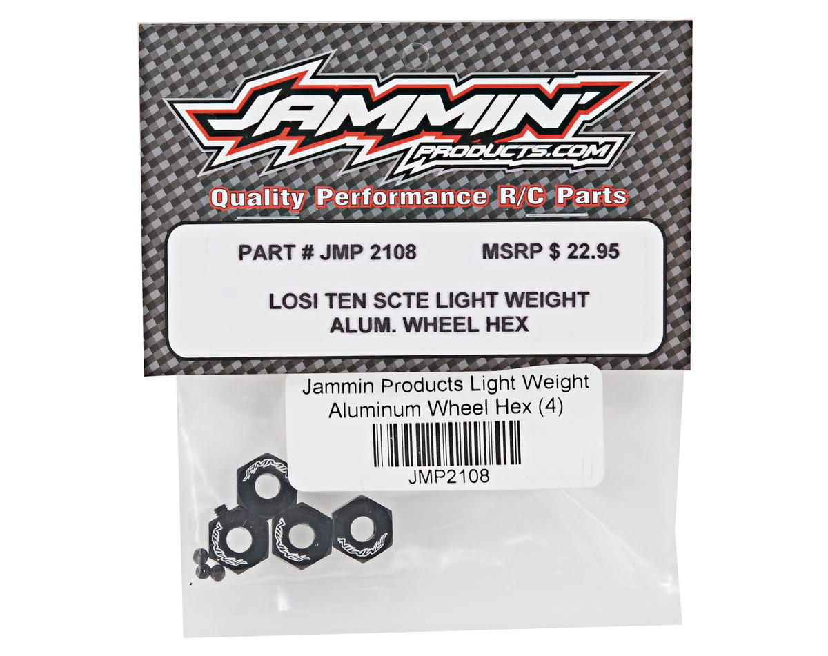 Jammin Products Light Weight Aluminum Wheel Hex Set (4)