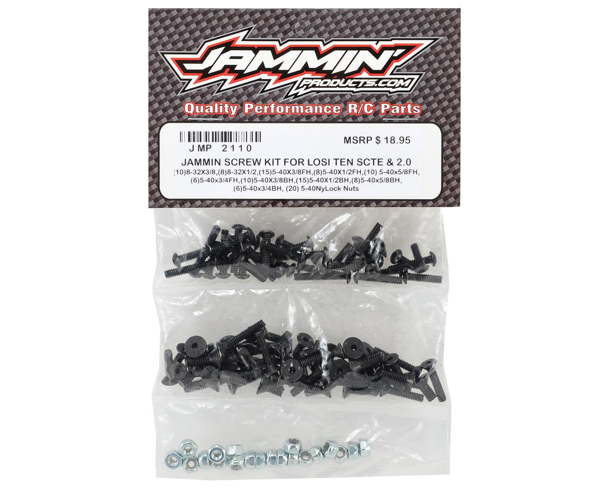 Jammin Products Losi TEN-SCT Nitro TEN-SCTE Screw Kit (116)