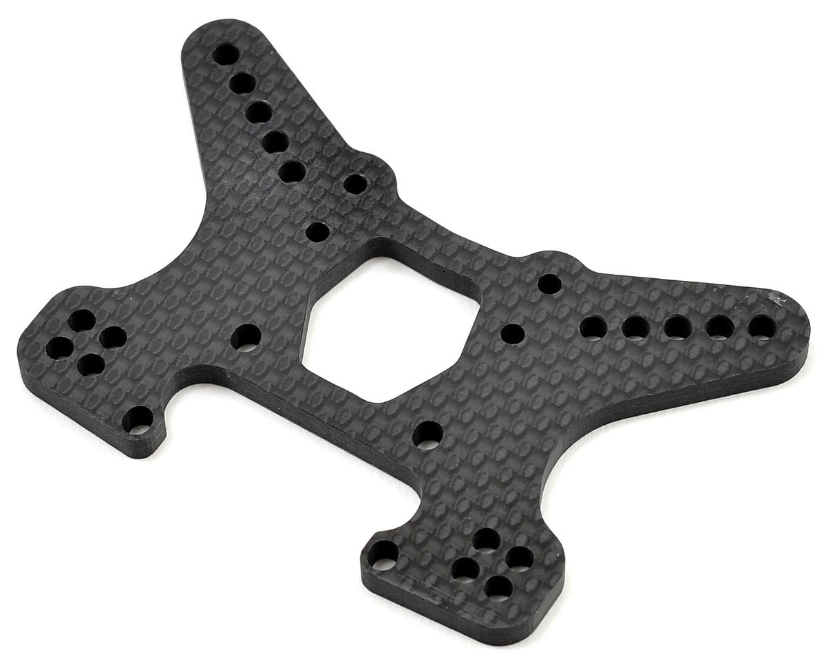 Losi TEN SCTE & 2.0 4mm Carbon Front Shock Tower by Jammin Products