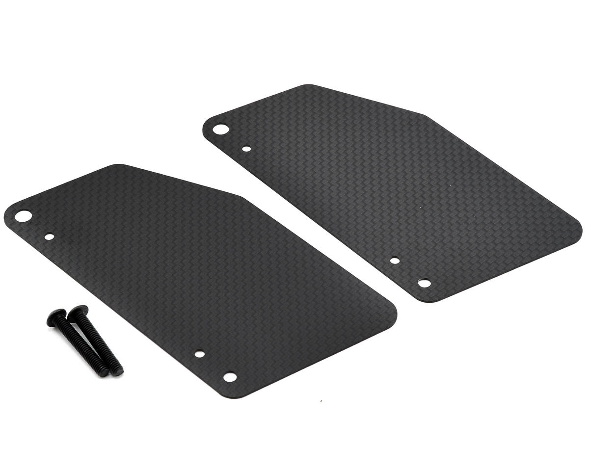 Carbon Fiber Rear Arm Mud Guard Set
