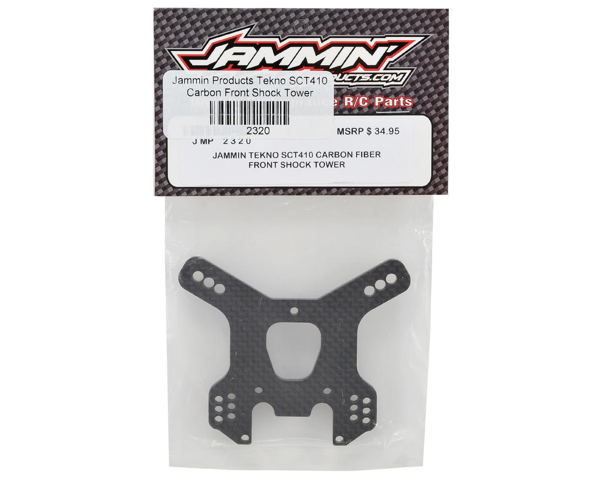 Jammin Products Tekno SCT410 4mm Carbon Front Shock Tower