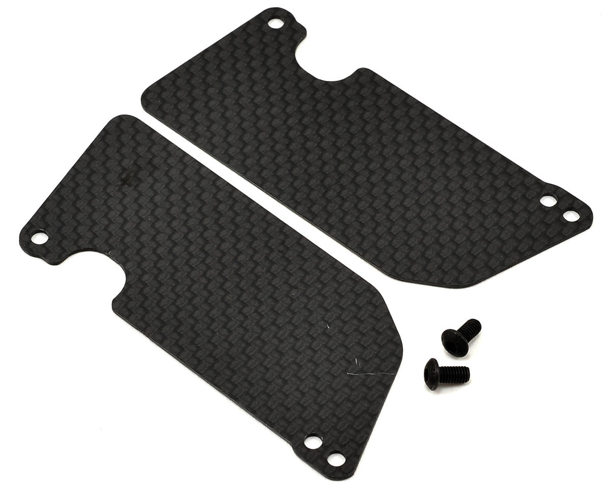 Tekno SCT410 Carbon Fiber Rear Arm Mud Guards by Jammin Products