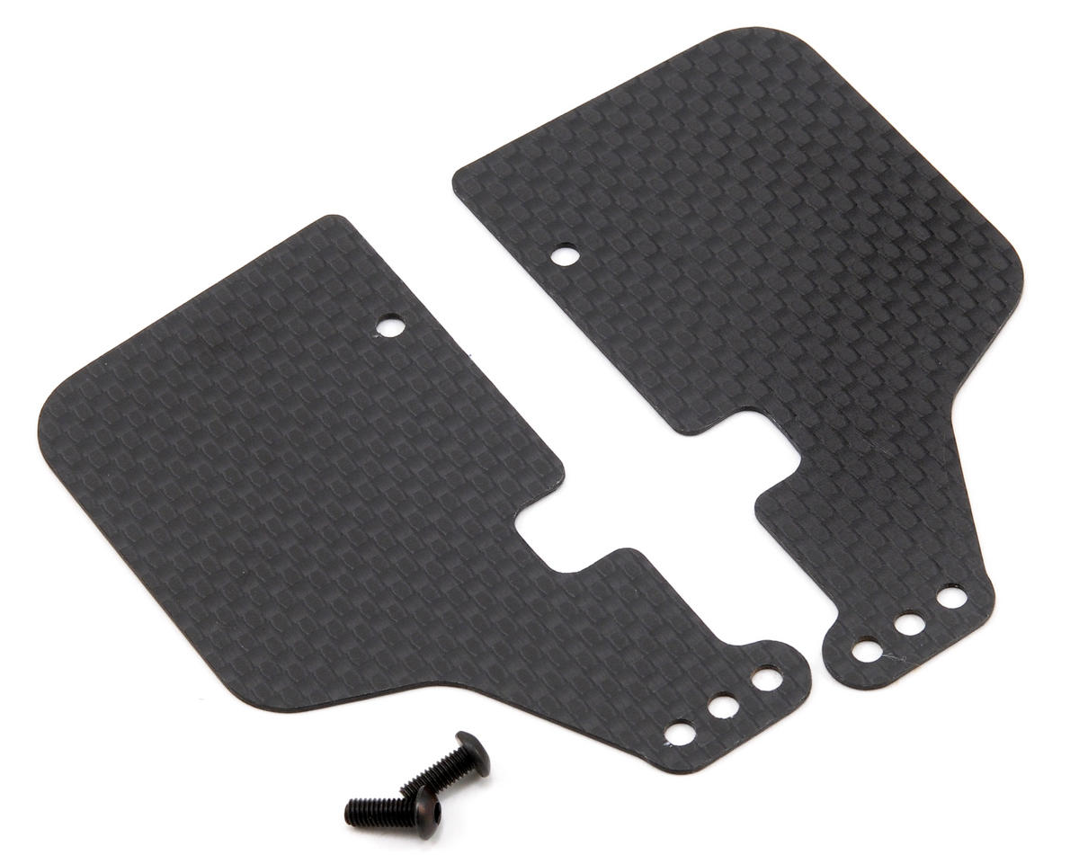 Jammin Products Carbon Fiber Rear Arm Mud Guard Set (THE Car)