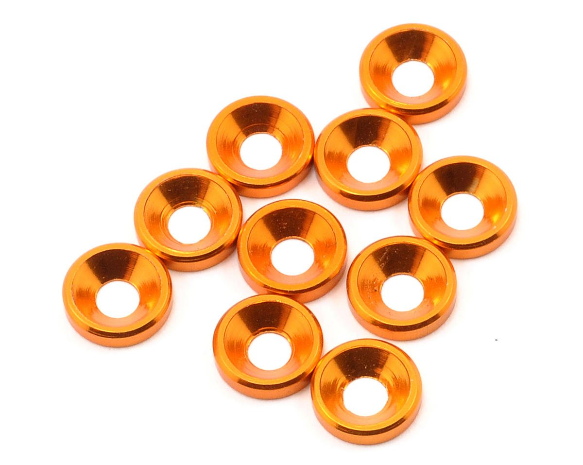 JQ Products M3 Countersunk Washer Set (10) (Gold)
