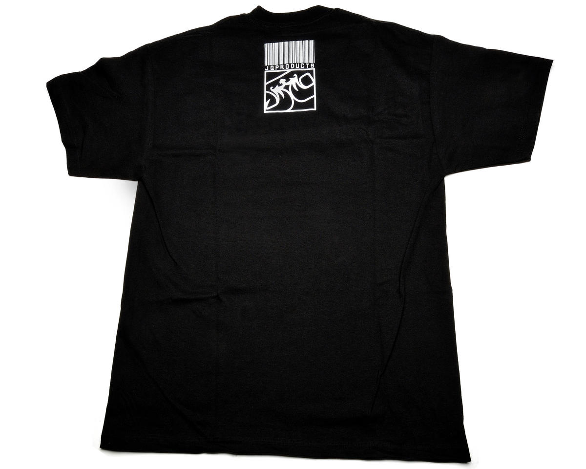 "JQRacing ""Against The Odds"" Black T-Shirt (X-Large)"
