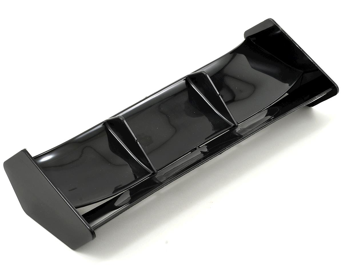 THE 1/8 Buggy Wing (Black) by JQ Car (White)Racing