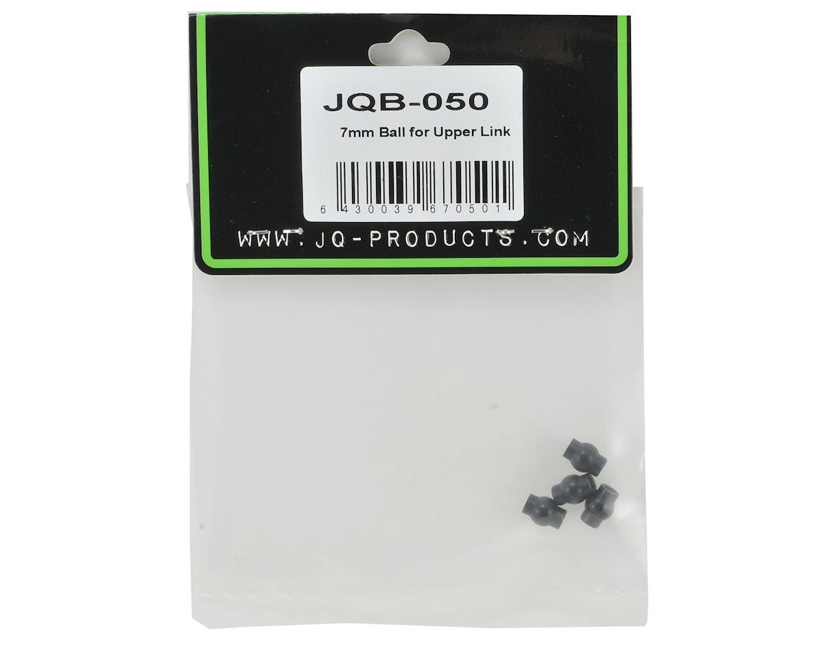 JQRacing 7mm Upper Link Pivot Ball Set (4)
