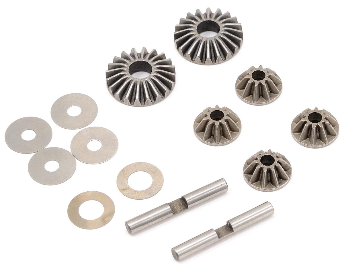 Differential Gear Set w/Crosspins (UPDATED) by JQ THE Car (White)Racing