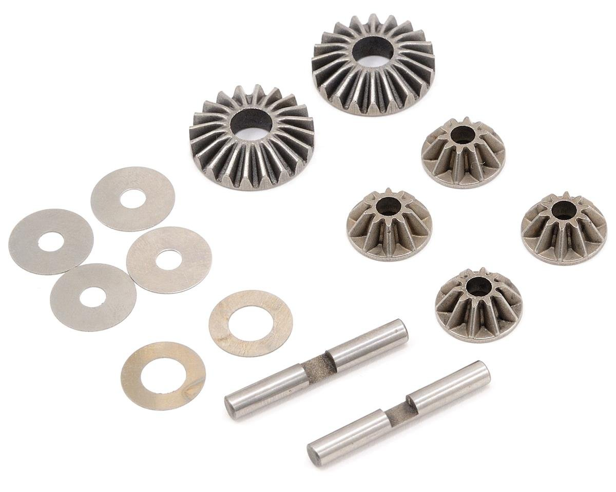 JQRacing Differential Gear Set w/Crosspins (UPDATED) (JQ Racing THE Car (White))