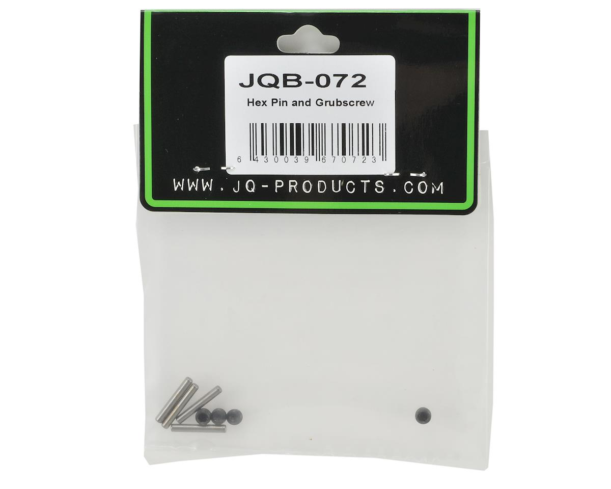 JQ Products Hex Pin & Grubscrew Set (4)