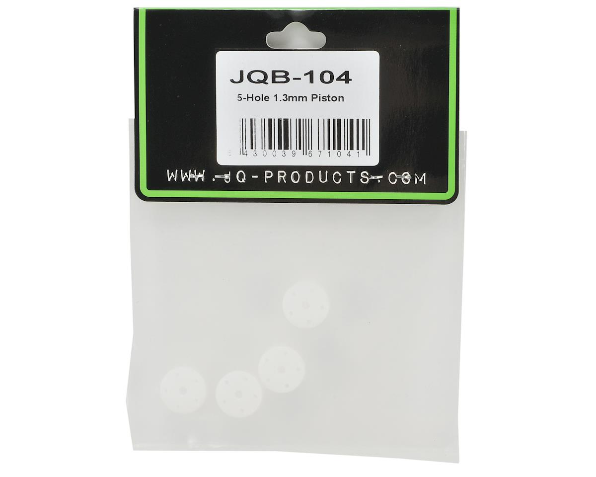 JQ Products 5-Hole 1.3mm Shock Piston Set (4)