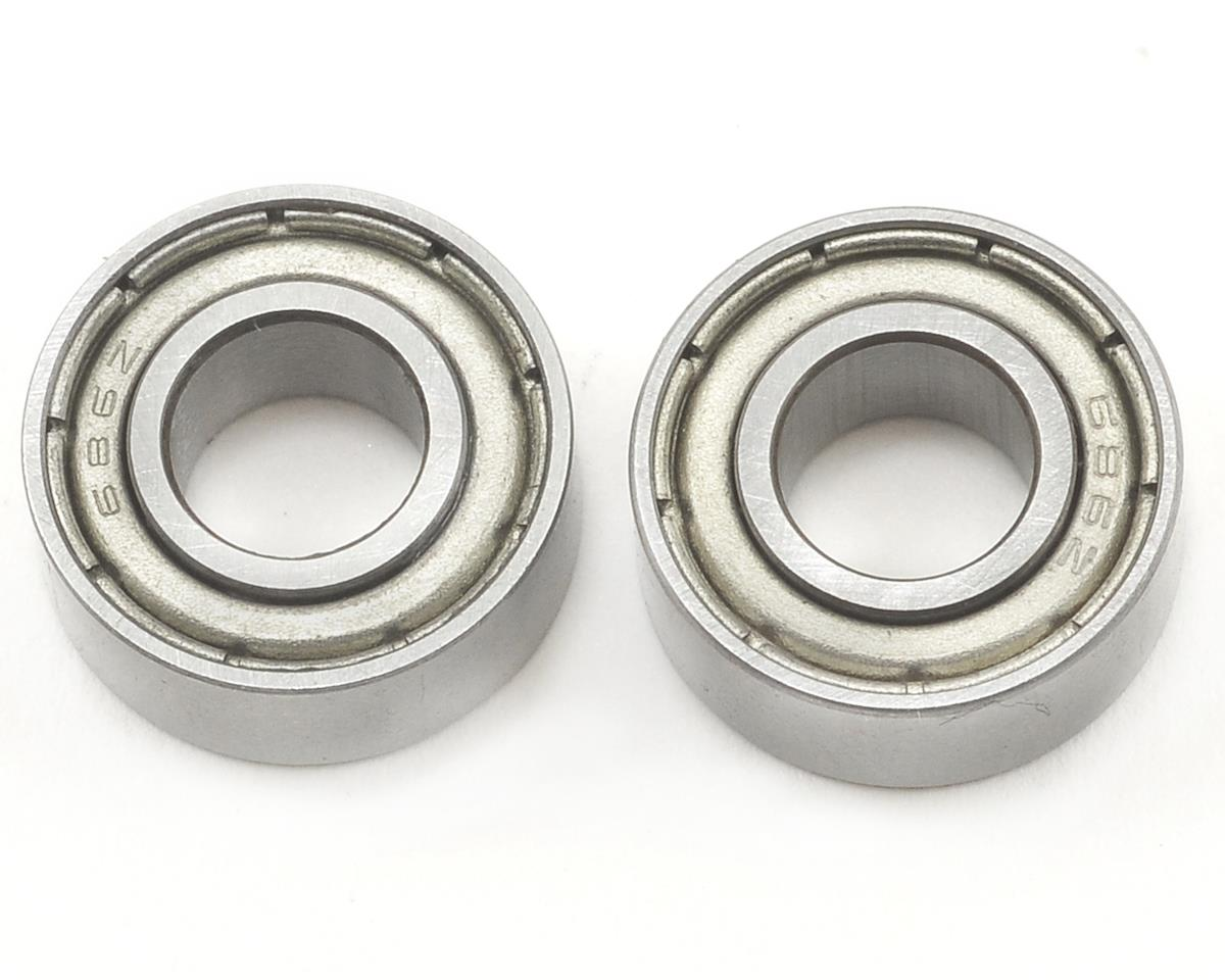 6x13x5mm Bearing Set (2) by JQRacing