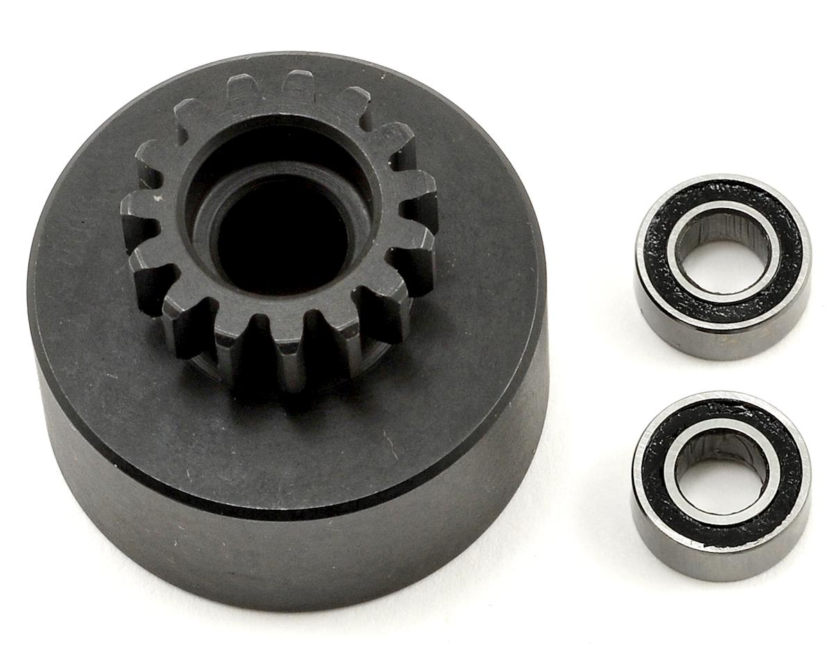 JQRacing 15T Clutch Bell w/5x10 Bearings