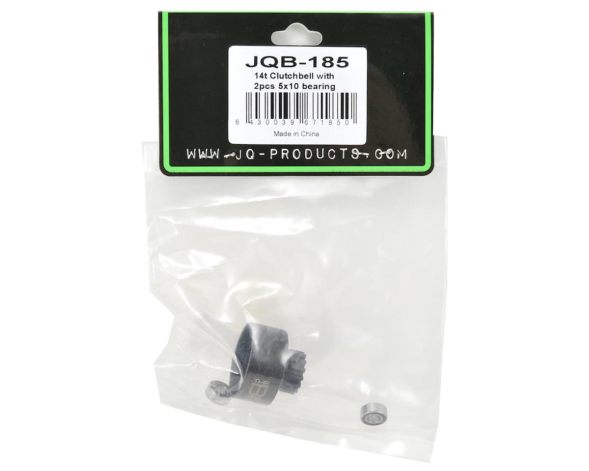 JQ Products 14T Clutch Bell w/5x10 Bearings