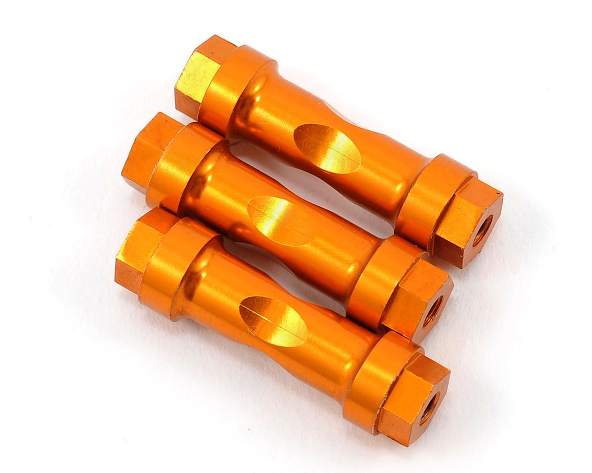 JQ Products Aluminum Wing Mount Post Set (Gold) (3)