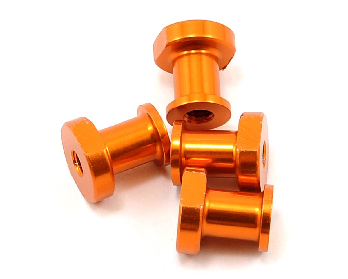 JQ Products Lightweight Aluminum Shock Holder Set (Gold) (4)