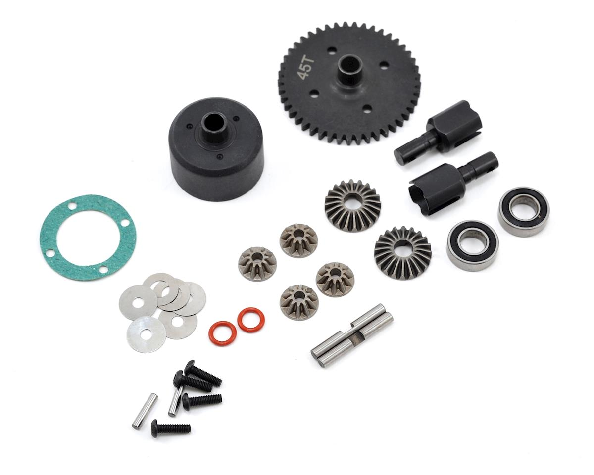 JQ Products Complete Center Differential Set (45T) (Yellow Edition)