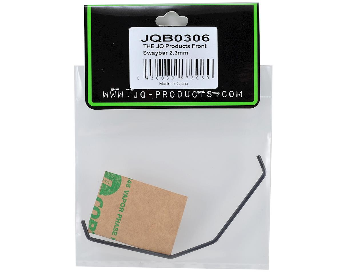 JQ Products 2.3mm Front Swaybar (White Edition)