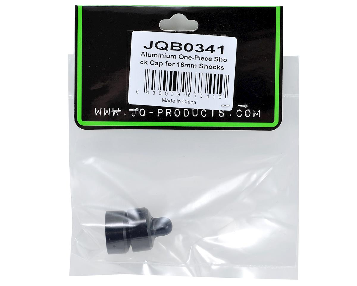 White Edition 16mm Aluminum One-Piece Shock Cap (2) by JQRacing