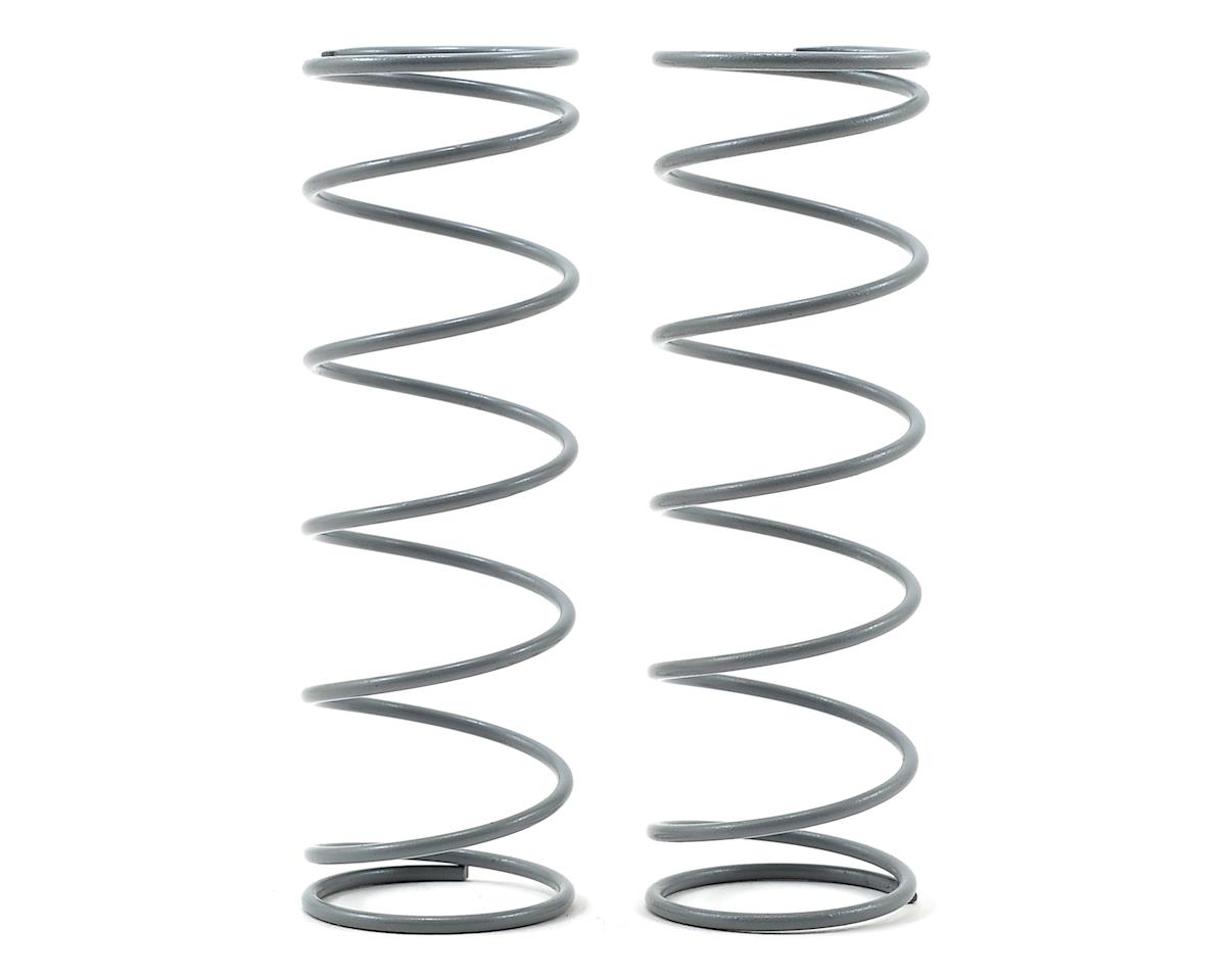 JQRacing Front Shock Spring Set (Grey) (2) (70mm/7.25 Coil - Medium Hard)