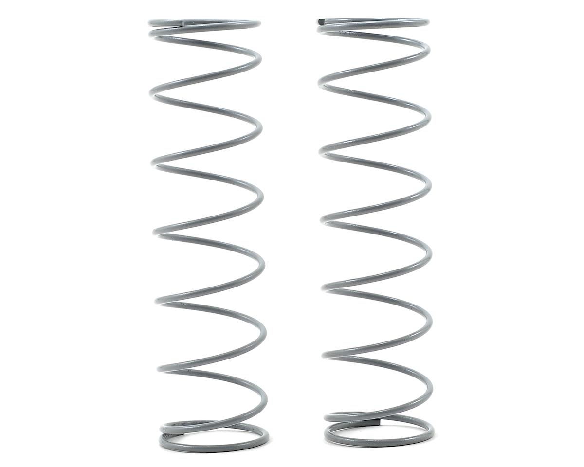 JQ Products Rear Shock Spring Set (Grey) (2) (85mm/8.25 Coil - Medium Hard)
