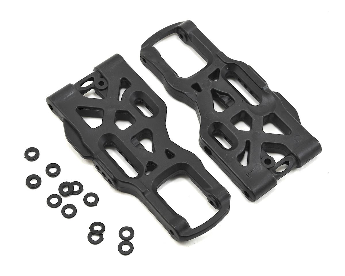 """JQRacing White Edition """"Hard"""" Front Arm Set"""