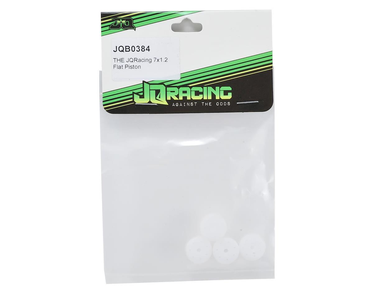 7-Hole 1.2mm Flat 16mm Shock Piston (4) by JQRacing