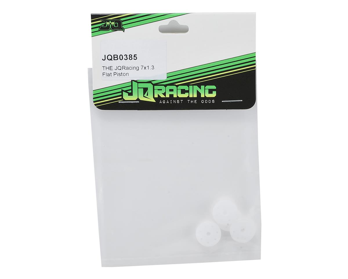 JQRacing 7-Hole 1.3mm Flat 16mm Shock Piston (4)