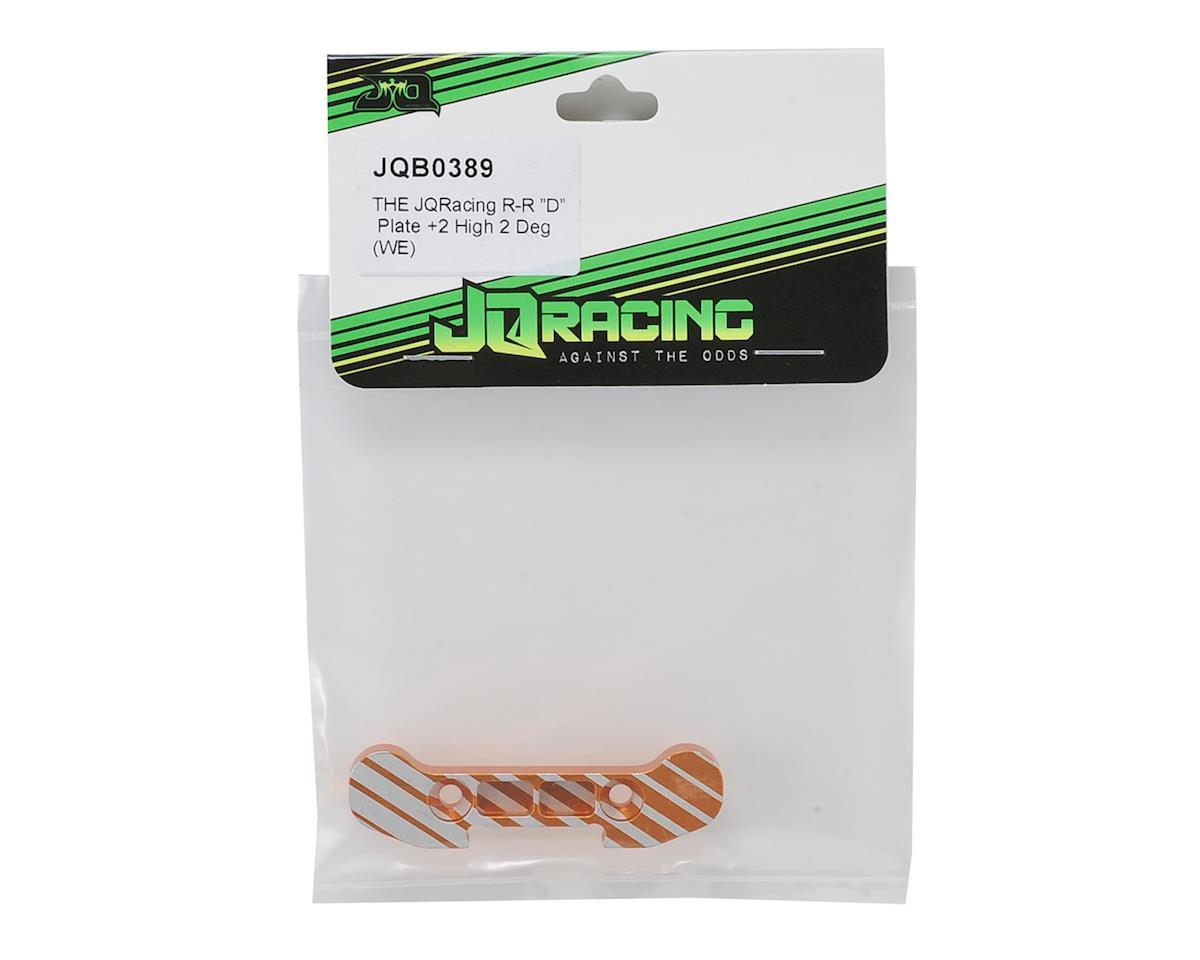 "JQRacing R-R +2 High ""D"" Plate (2°)"