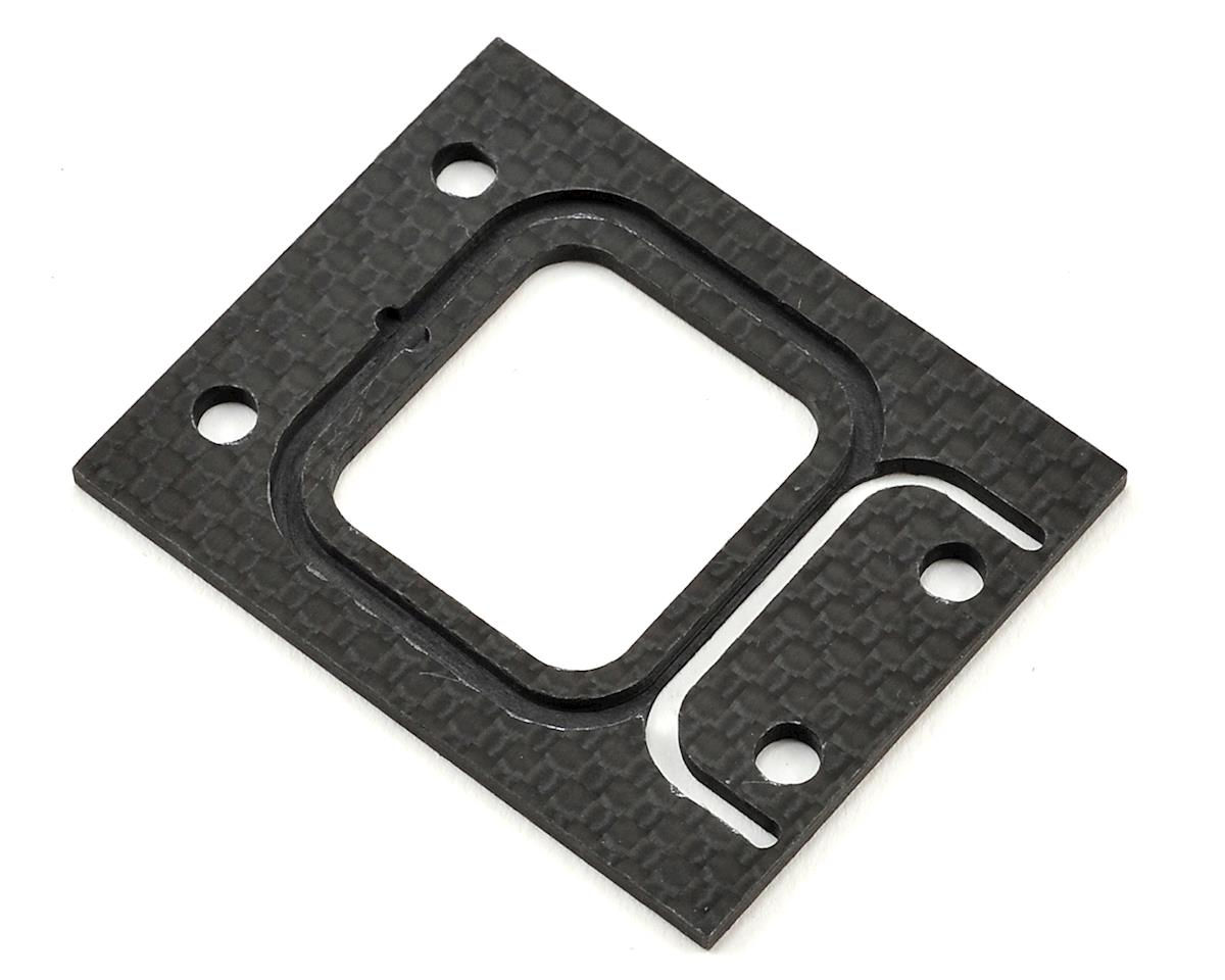 Black Edition 2mm Carbon Front Gearbox Spacer by JQRacing
