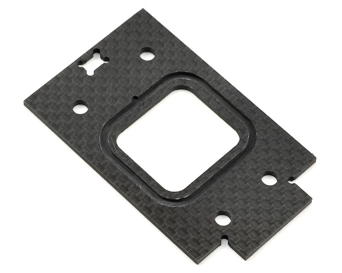 Black Edition  2mm Rear Carbon Gearbox Spacer by JQRacing