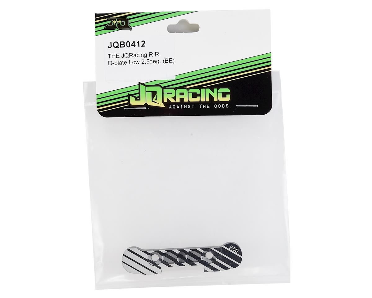 JQRacing Black Edition D-Plate Low (2.5°)