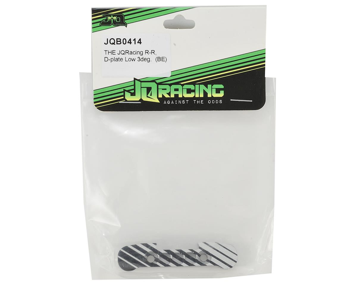 JQRacing Black Edition R-R Low D-Plate (3deg)