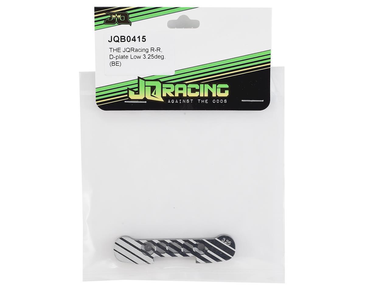 JQRacing Black Edition D-Plate Low (3.25°)
