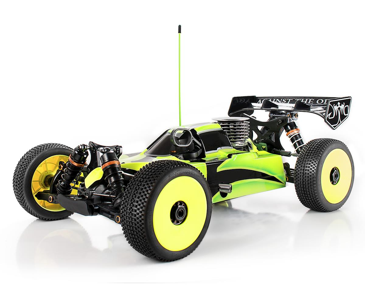 """JQRacing """"THE Car"""" 1/8 Competition PRO Buggy Kit (White Edition)"""