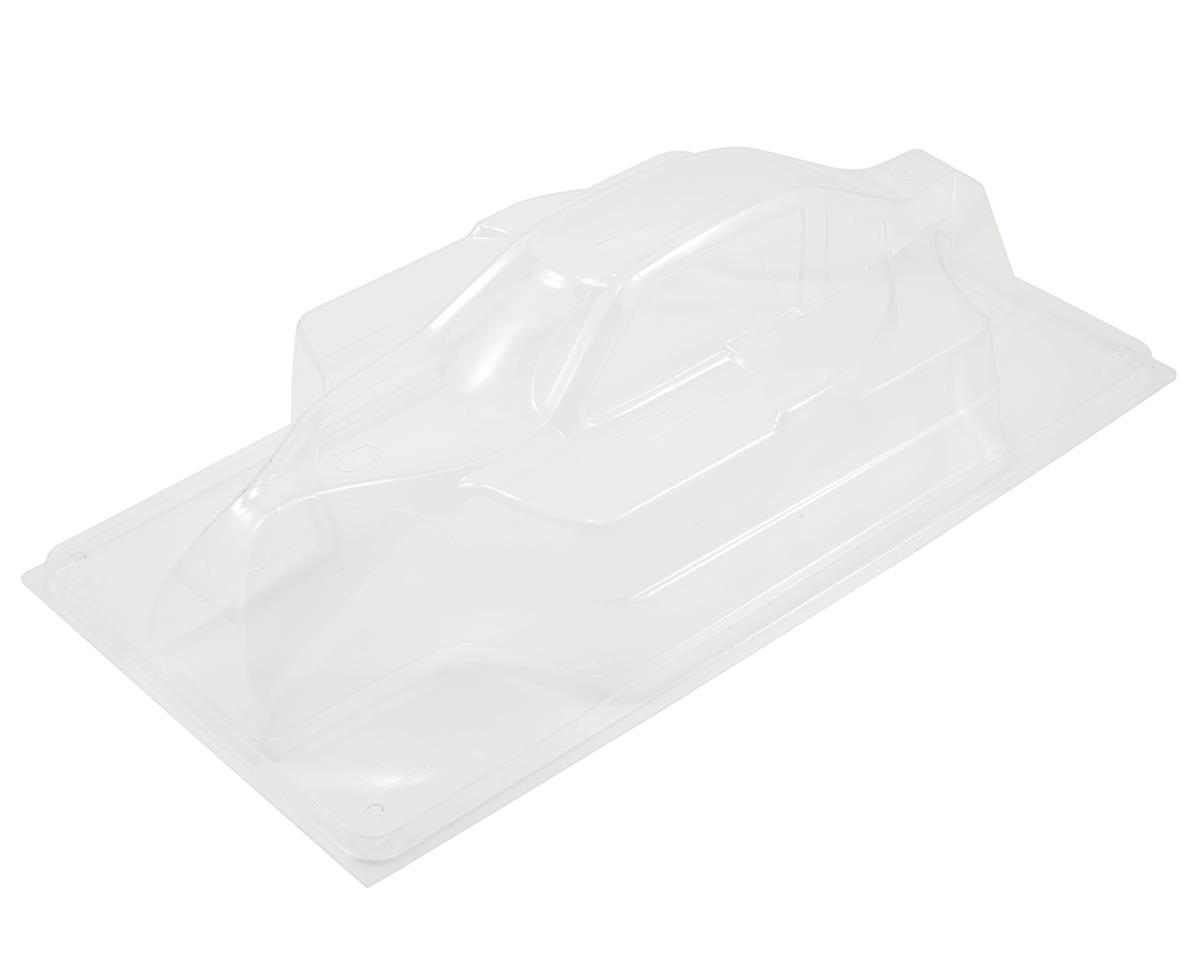 THE eCar Wide 1/8 Buggy Body by JQ Car (White)Racing