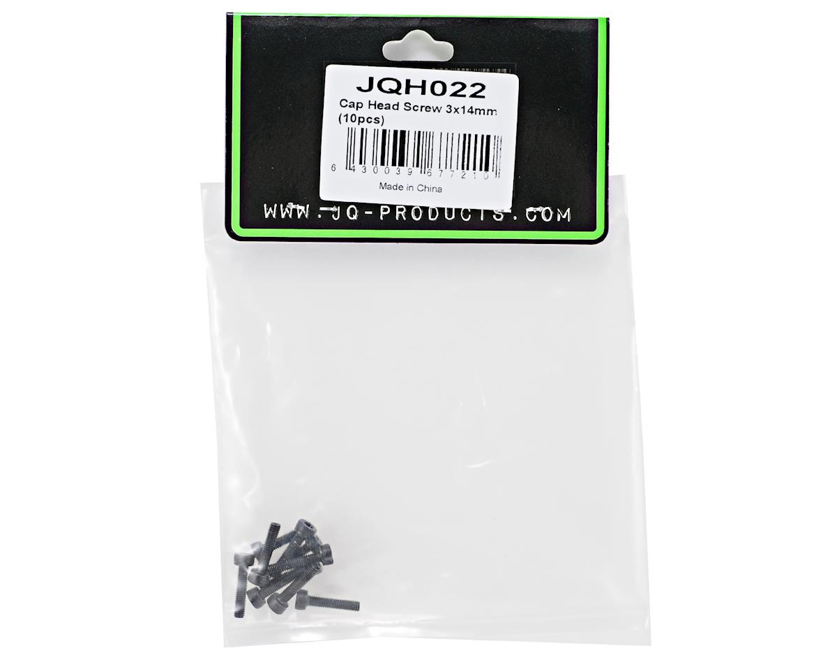 JQ Products 3x14mm Cap Head Screws (10)